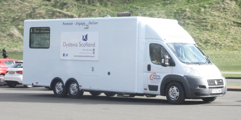Dyslexia Van from Dyslexia Scotland